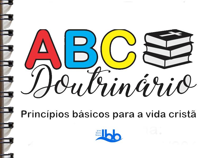 NOVA TURMA ABC DOUTRINÁRIO