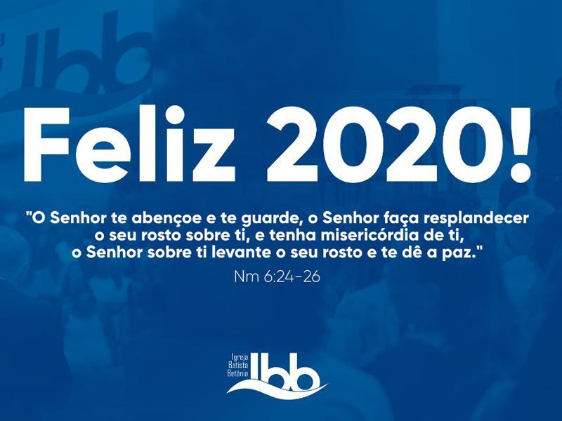 FELIZ 2020 PARA VOCÊ!