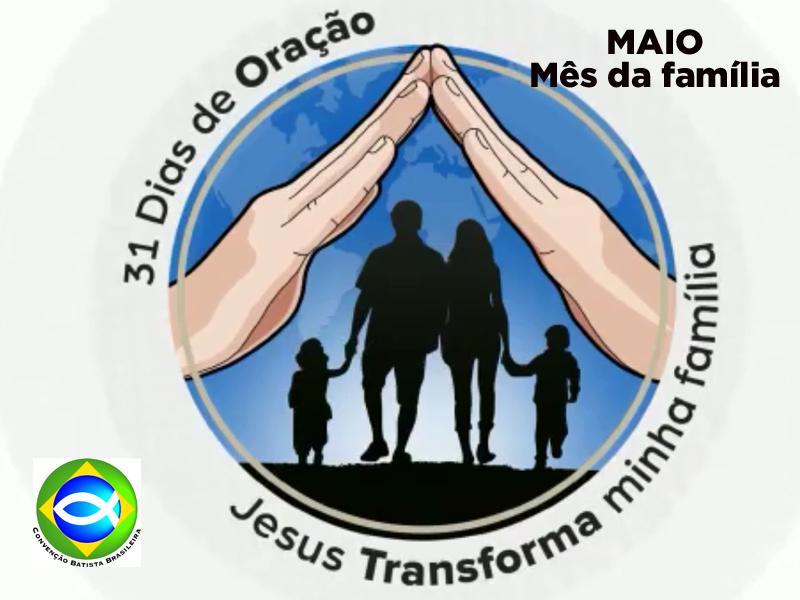 MAIO DE 2020: MÊS DA FAMÍLIA