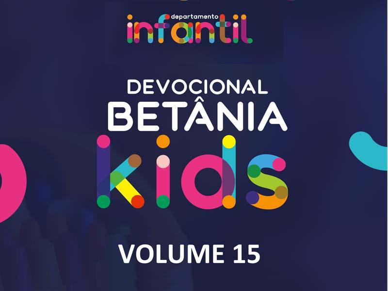BETÂNIA KIDS - VOLUME 15