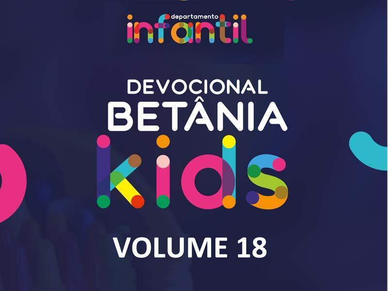 BETÂNIA KIDS - VOLUME 18
