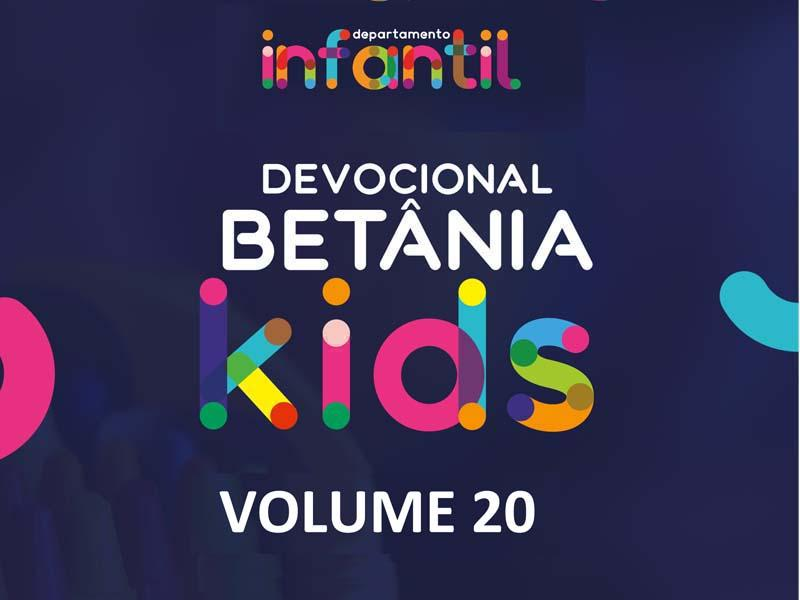 BETÂNIA KIDS - VOLUME 20