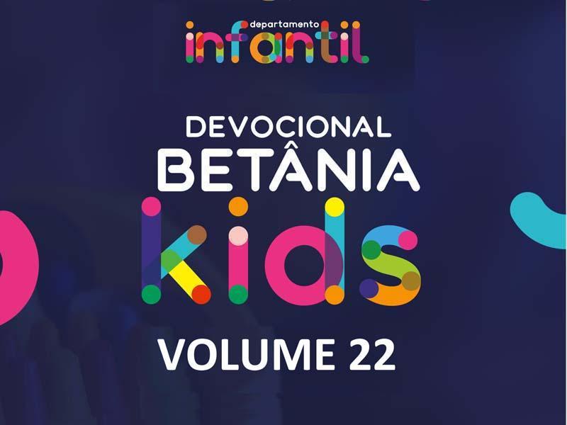 BETÂNIA KIDS - VOLUME 22