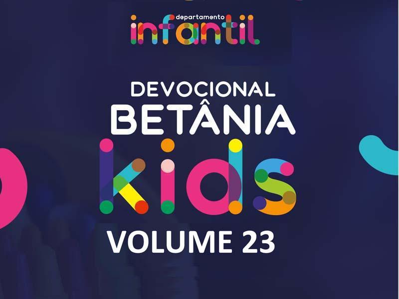 BETÂNIA KIDS - VOLUME 23