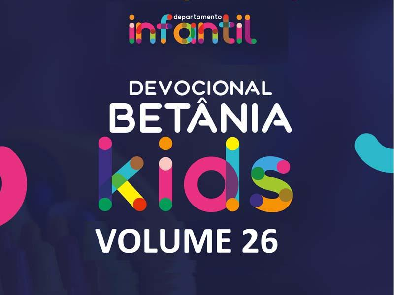 BETÂNIA KIDS - VOLUME 26