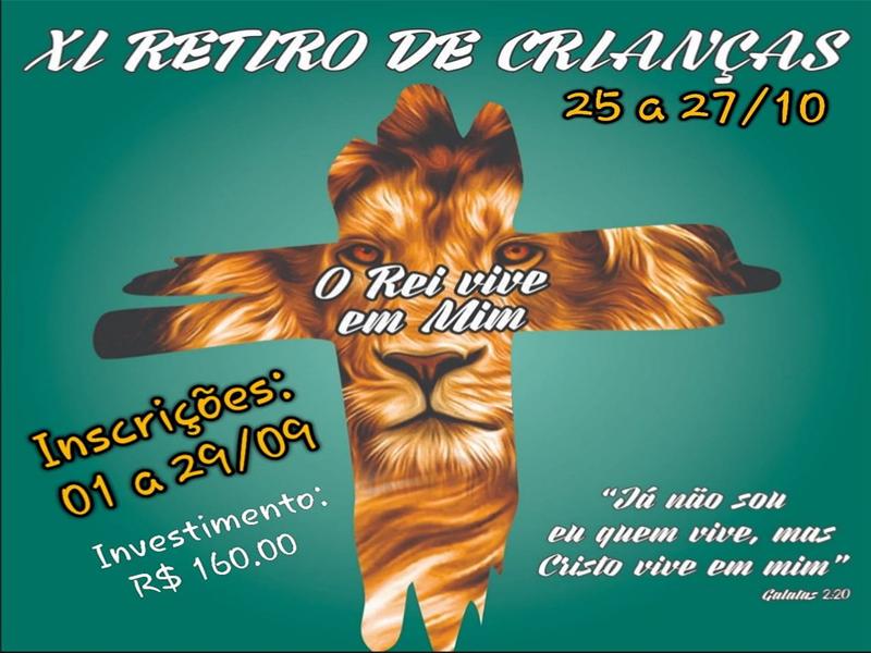 XI RETIRO DE CRIANÇAS