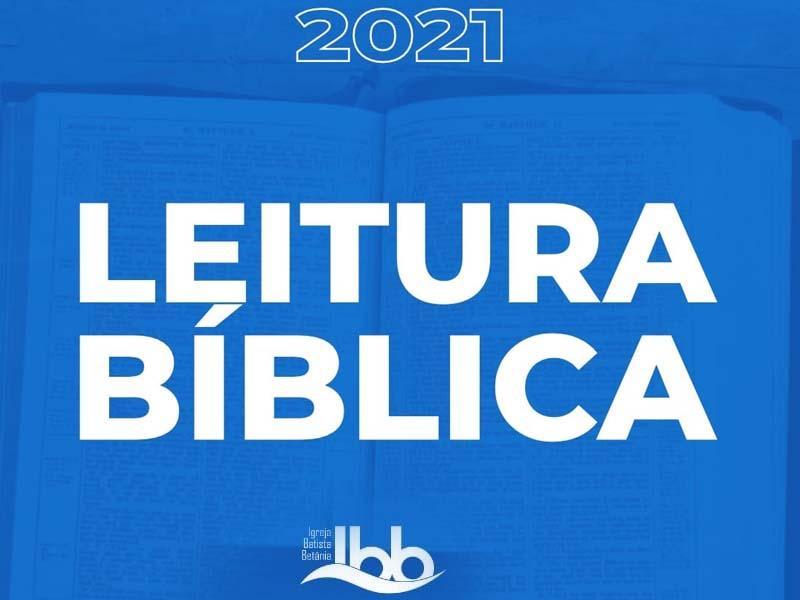 LEITURA BÍBLICA BETÂNIA 2021